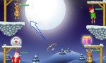 Onlinespiel : Friday-Flash-Game: Gibbets: Santa in Trouble