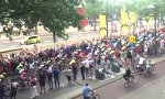 Crash bei der Tour de  France
